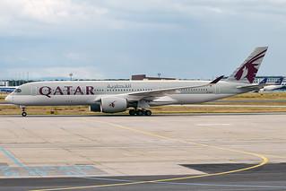 Qatar Airways, A7-ALA, Airbus A350-941 | by Anna Zvereva