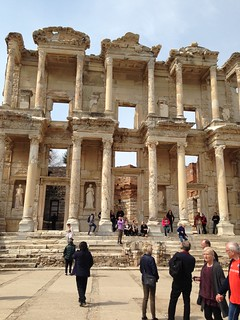 Closer to the Library of Celsus | by AbsolutSara