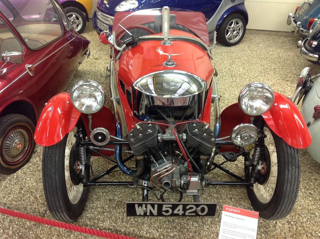 Morgan Supersport 3-wheeler (1938) | Haynes International Mo… | Flickr
