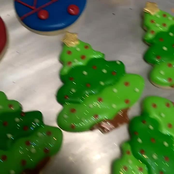 Custom Christmas Cookies Brian Haskell Flickr