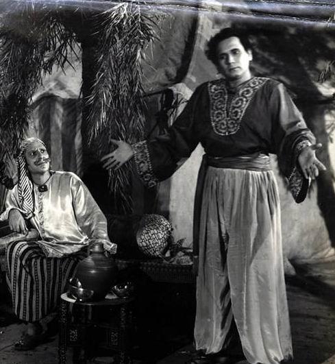 Nazir Kashmiri (Character Actor-Left) & John Craves in Zimbo-1958