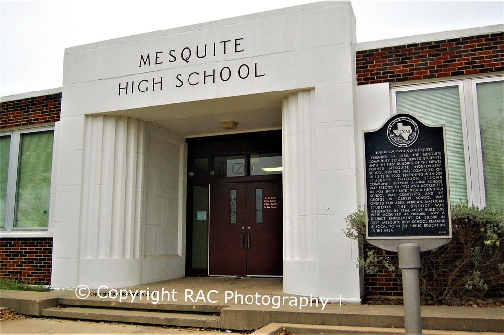 Mesquite High School Mesquite Tx Demolished This Is The Flickr