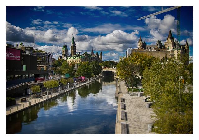 beautiful sky over Ottawa