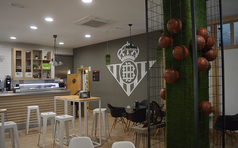 Canteen facilities at Real Betis
