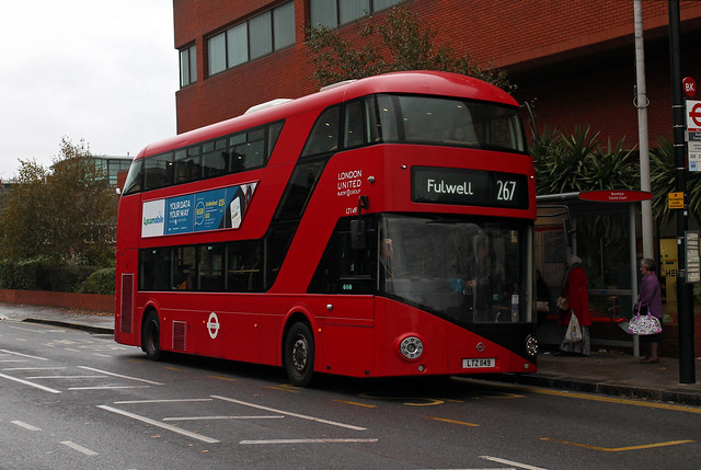 Route 267, London United, LT149, LTZ1149