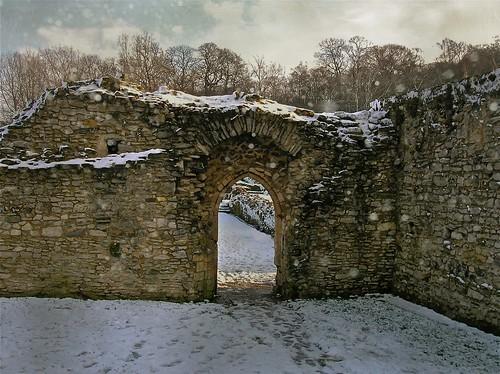 snow abbey stones historicsites monuments lesnesabbey abbeywood london