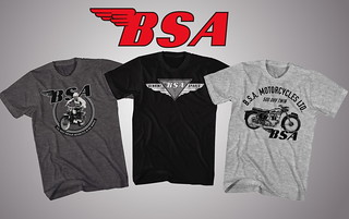 BSA-Shirts | by Classic British Spares