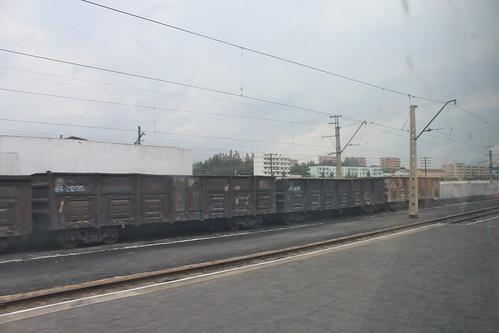 Namsinuiju train station | by Timon91