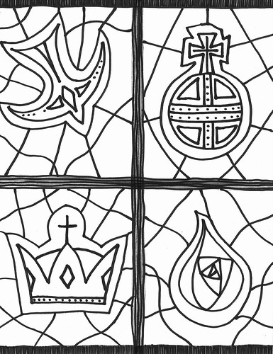 Christ is King coloring page | by traqair57