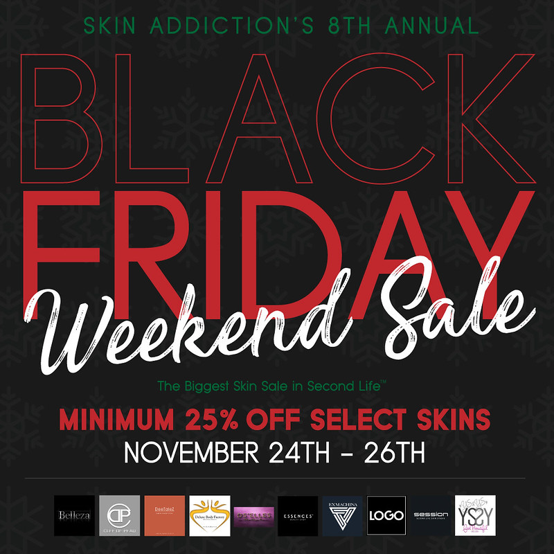 SA's 8th Annual Black Friday Weekend Sale