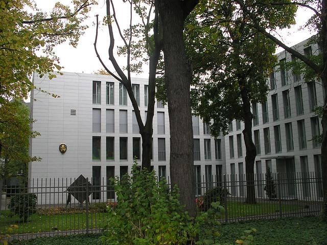 1999/2001 Berlin Apostolische Nuntiatur von Dieter Georg Baumewerd Lilienthalstraße 3a in 10965 Neukölln