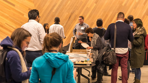 The networking reception | by UBC Postdoctoral Association