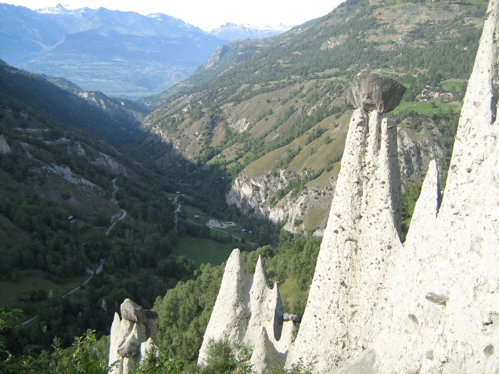 Course en montagne 2008