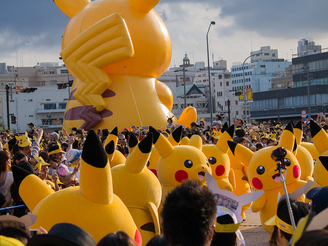????????????2015, Huge outbreak of Pikachu