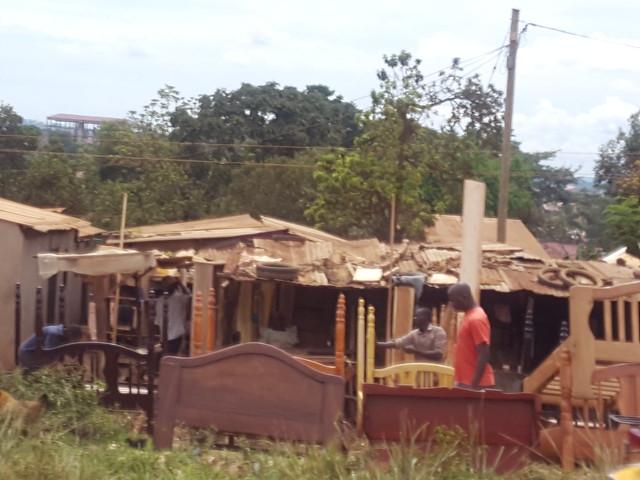 006 Shops along the road east out of Kampala