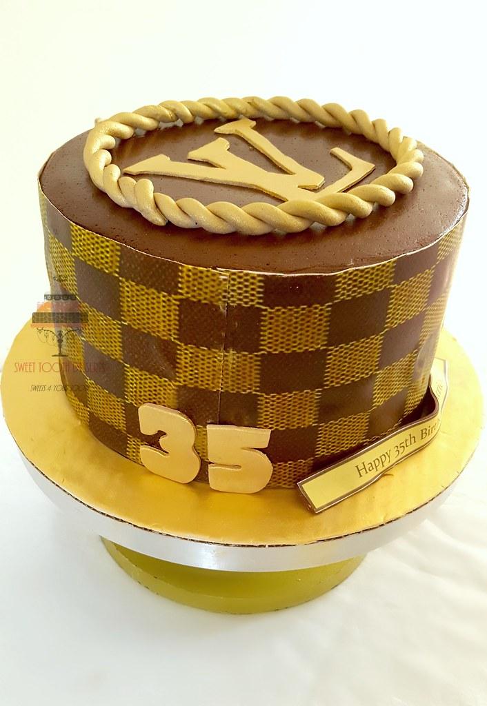 Remarkable Lv 35Th Birthday Cake 9In Lv 35Th Birthday Cake Strawberr Flickr Personalised Birthday Cards Sponlily Jamesorg