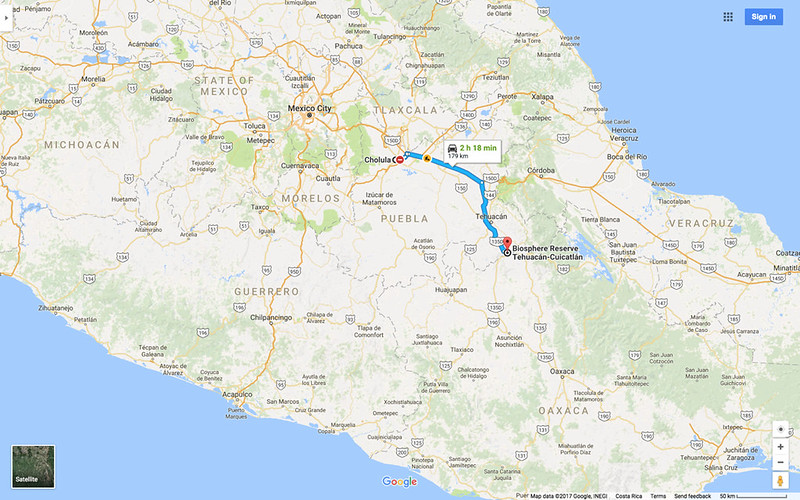 Cholula to Cactus