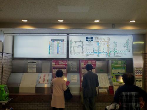 Hankyu Toyonaka Station   by Kzaral