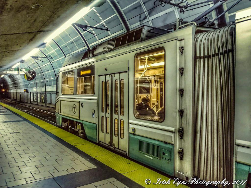 MBTA Green Line at North Station in Boston, Mass  | Tom L