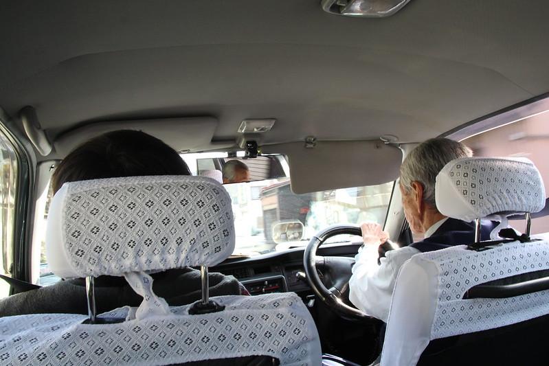 鳥沢駅からタクシー
