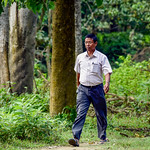 Bhubaneshwor Prasad Chaudhary, Chairperson of the Baghamara Bufferzone Community Forest User Group
