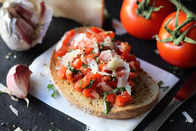 The Tomato 🍅 bruschetta.