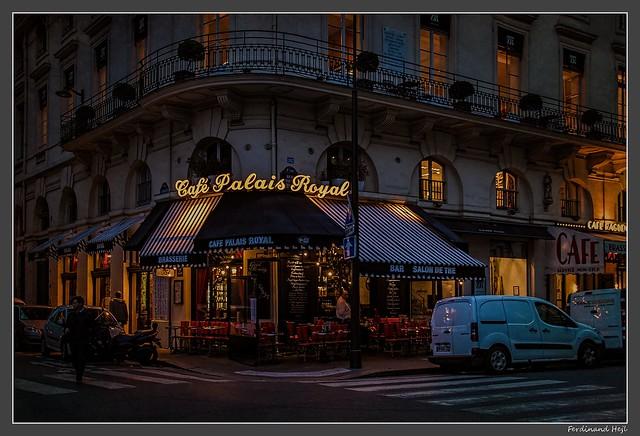 Paris_Cafe Palais Royal_matin_morning_Rue Saint Honoré_1er Arrondissement