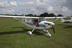 G-CIEF Aeropro Eurofox [LAA 376-15218] Sywell 010917