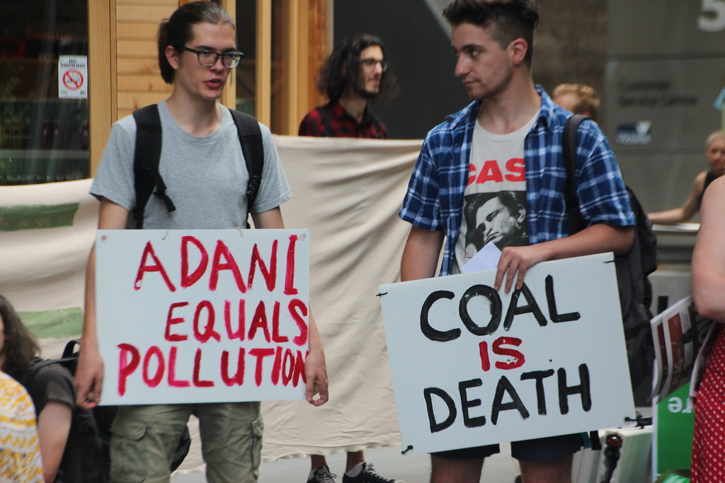 Adani = Pollution. Coal is Death IMG_2689