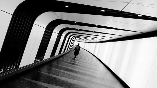 King's Cross Tunnel in black and white: part 2