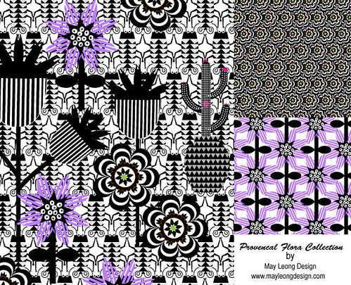 abstract repeat pattern