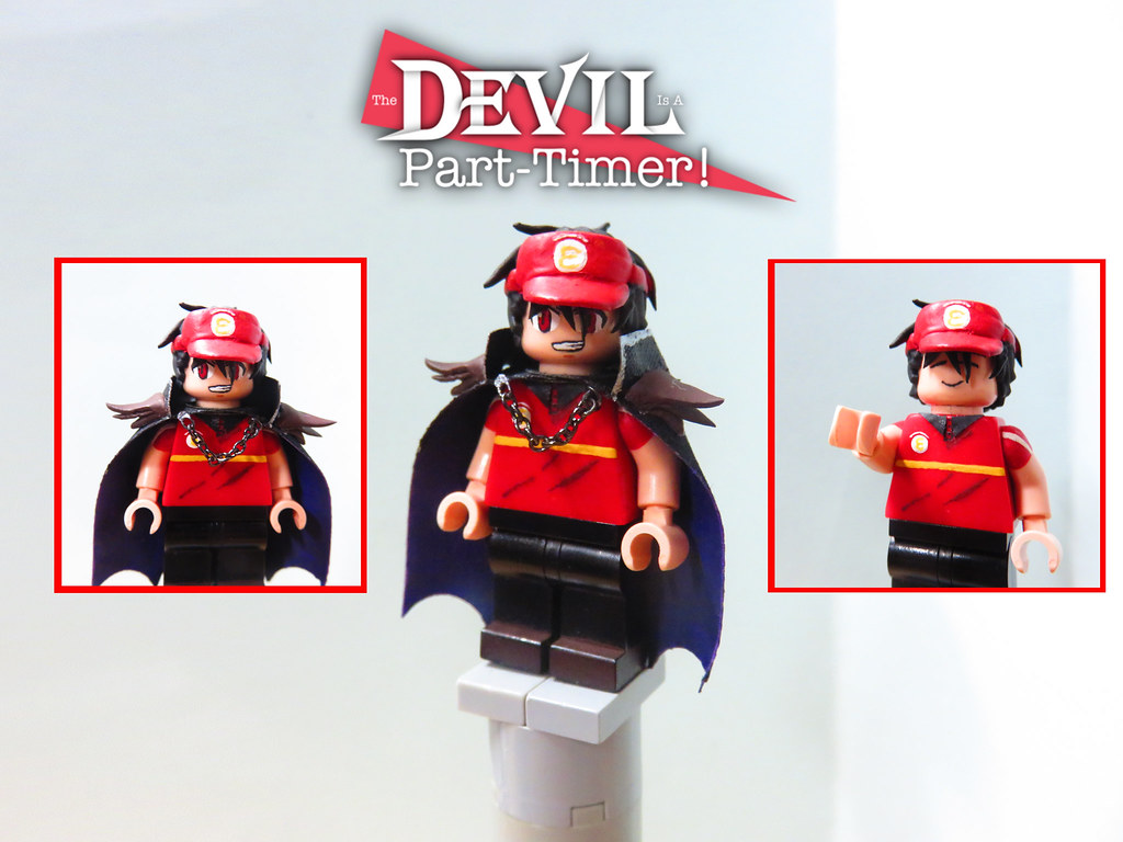 The Devil Is A Part Timer Sadao Maou Satan Jacob Flickr