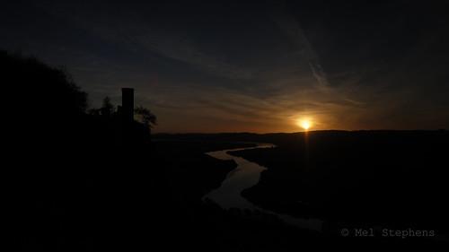 widescreen sunrise river tay viewpoint kinnoull perth scotland uk 20171119 201711 2017 q4 olympus omd em1ii ii m43 microfourthirds mirrorless mzuiko 714mm pro water best mft november wide wallpaper screensaver gps