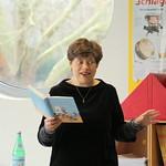 "2017 - Sabine ""Miss Braitwhistle"" Ludwig liest an der SiWi"