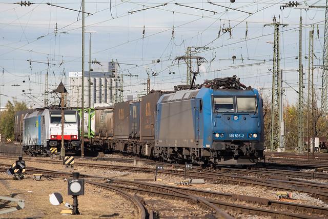 Alpha Trains 185 535 Basel Bad