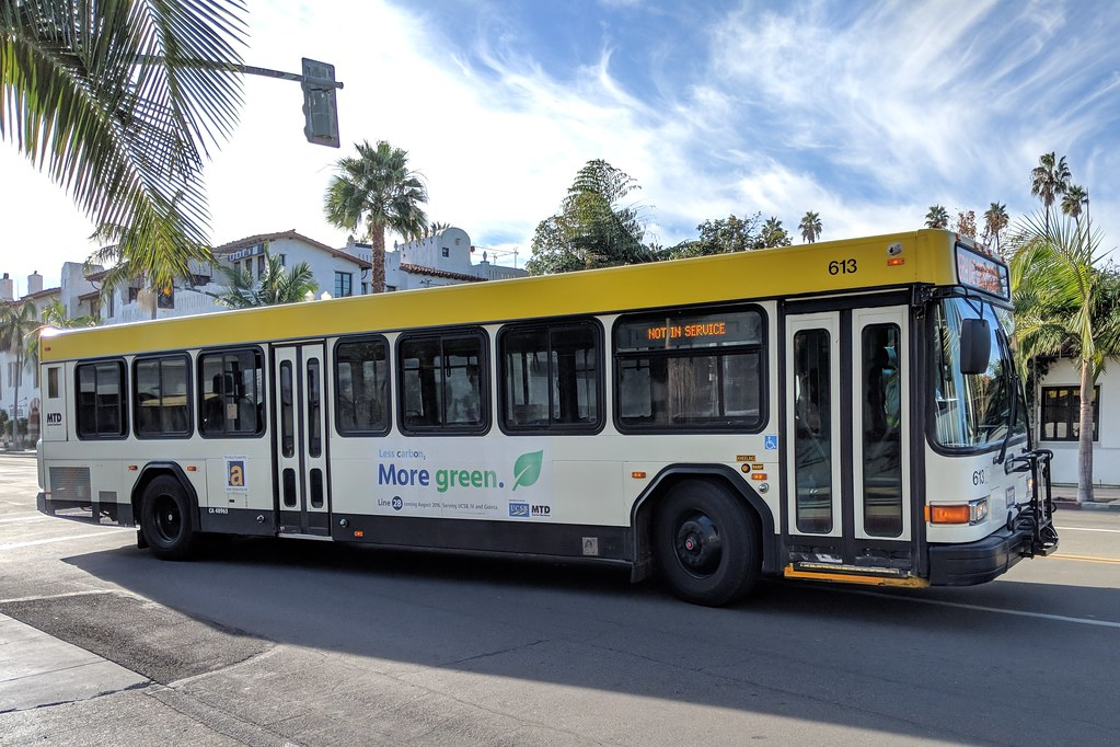Santa Barbara MTD | Gillig Advantage bus. | So Cal Metro ... on