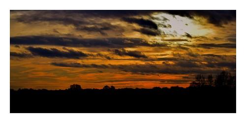 doncaster southyorkshire hatfielsmoors sunset sky clouds