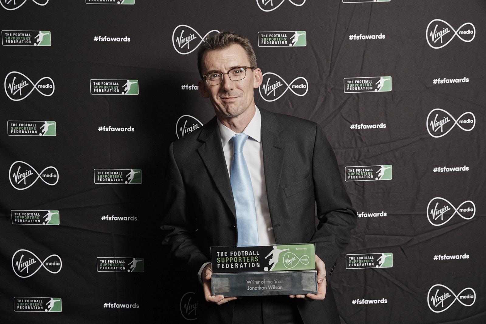Writer of the Year - Jonathan Wilson
