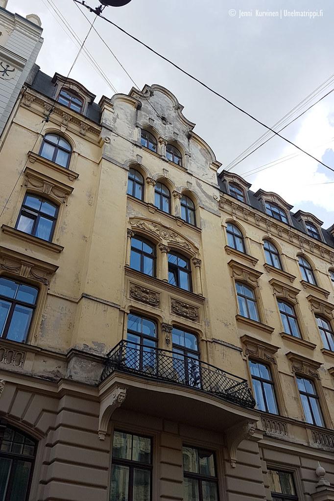Art nouveau -rakennus Riiassa