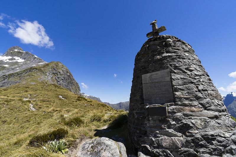 Mackinnon Pass Memorial 1146m
