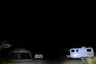 Gila Box Riverview Campground night camp | by Pierre Yeremian