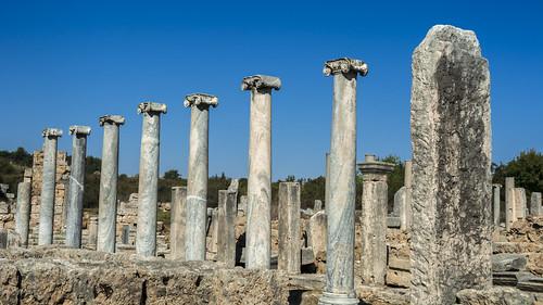 PERGE  Ancient City. Antalya /Turkey