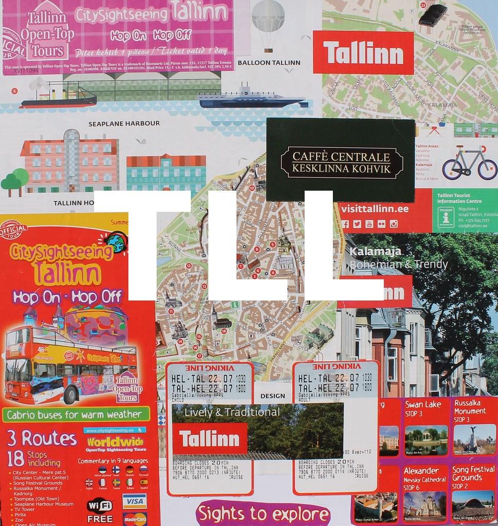 Travelgram City Code: Tallinn   Emma Latimer   Emma Latimer