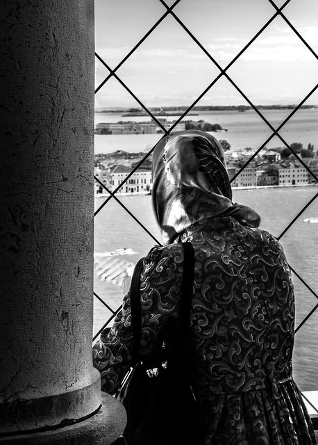 Looking out from San Marco Campanile