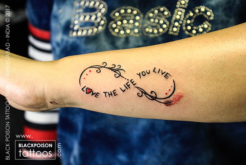 356b5850f Infinity Sign Tattoo   by blackpoisontattoo Infinity Sign Tattoo   by  blackpoisontattoo