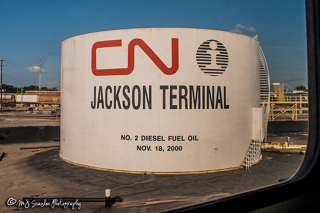 Amtrak's City of New Orleans | CNIC Jackson Terminal
