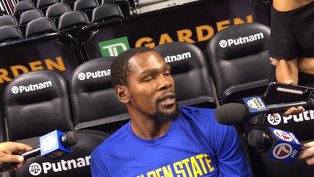 Kevin Durant on OKC: 'That blue is going to be in my blood ...