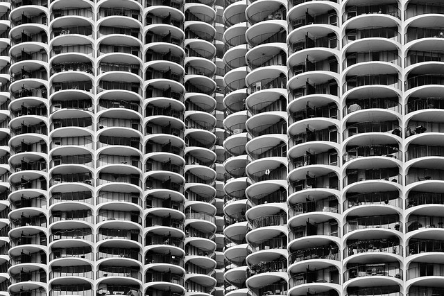 Bountiful balconies.