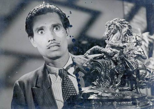 Azeem (Actor of 40s) in Bhedi Bungla (House of Mystery)-1949