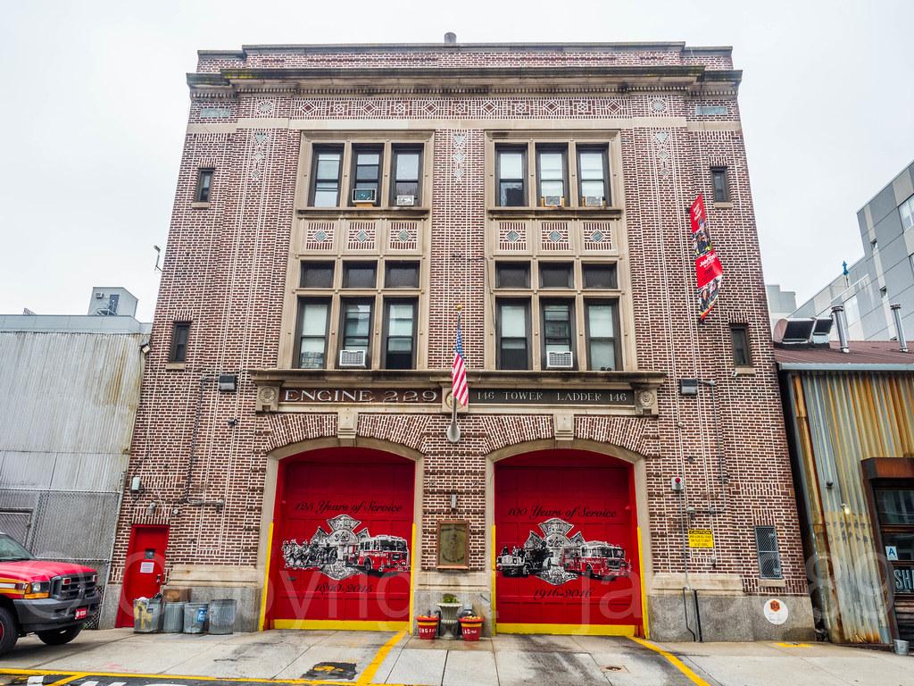 FDNY Firehouse Engine 229 & Ladder 146, North Williamsburg